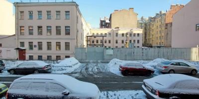 Верейская улица, 50, пустырь