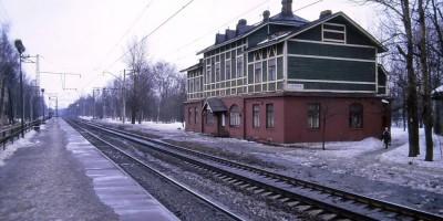 Вокзал на станции Озерки
