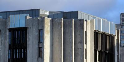 Здание Электронстандарта на площади Победы, надстройка