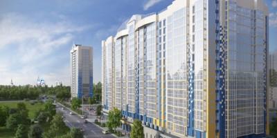 Жилой комплекс Сириус на Среднерогатской улице