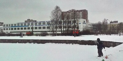 Берег Ольгинского пруда