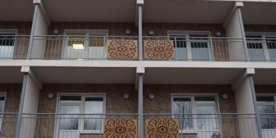 Дом престарелых и инвалидов на Поклонногорской, балконы
