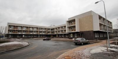 Дом престарелых и инвалидов на Поклонногорской, новый корпус