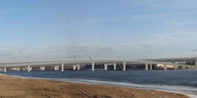 Яхтенный мост через Большую Невку