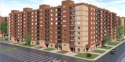 Красный Кирпичник, проект жилого дома, угол