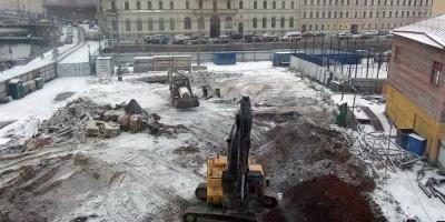 Суд запретил строить жилой дом на месте Литовского замка на Мойке