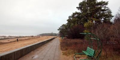 Побережье Финского залива в Сестрорецке