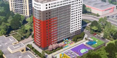 Проект жилого комплекса на проспекте Космонавтов, 102