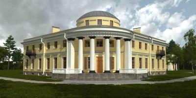 Уткина дача, главный дом, проект