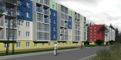 Зеленогорск, проект дома на Строителей, 3
