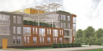 Зеленогорск, проект жилого комплекса на улице Строителей, фасады