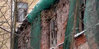 Жилой дом Александро-Невского Антониевского духовного училища, разрушенный