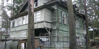 Дача Собелова на Приморском шоссе, 114, в Зеленогорске