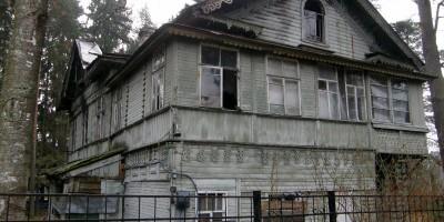 дача Собелова на Приморском шоссе в Зеленогорске