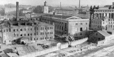 Фабрика-кухня на Московском, строительство