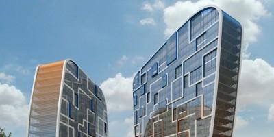 Гражданский проспект, 14, проект жилого дома, анфас