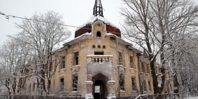 Кронштадт, здание Кронштадтской морской общины сестер милосердия на Пролетарской улице, 30