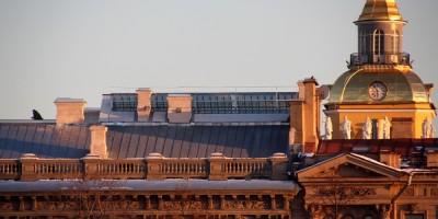 Мал-Михайловский дворец, фонарь