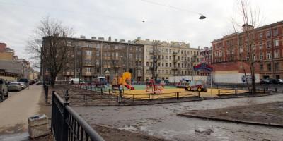 Ораниенбаумский сад, детская площадка