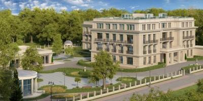 Проект апарт-отеля на Каменном острове