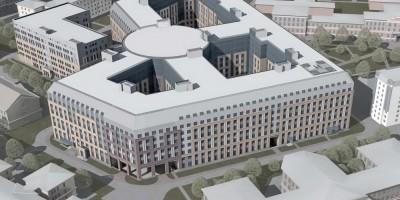 Проект многопрофильной клиники ВМА на Боткинской