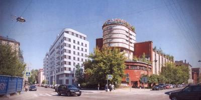 Проект жилого дома на Корпусной улице