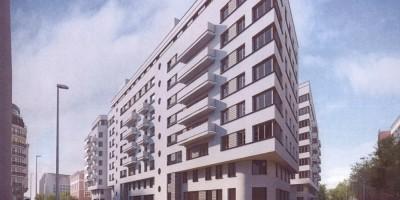 Проект жилого дома на Корпусной улице, Интерколумниум