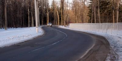 Пушкин, дорога на Александровку