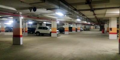 Шушары, подземный паркинг