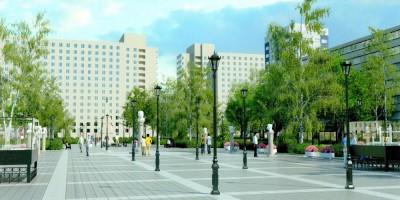 Сквер Мациевича, центральная аллея