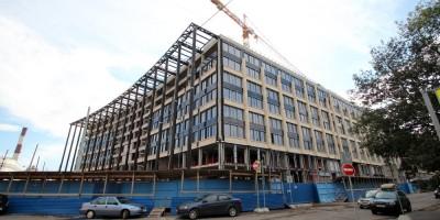 Строительство Невской ратуши