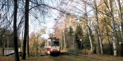 Трамвай на Крестовском острове