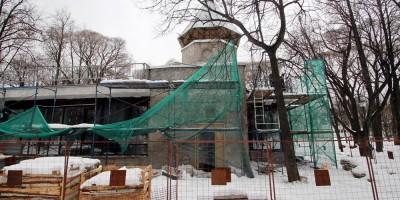 Игротека в Таврическом саду, ремонт