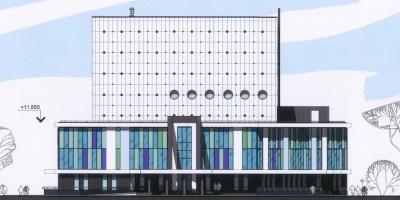 Здание архива РАН на Киевской улице
