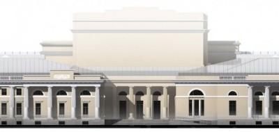 Здание фондохранища Этнографического музея, второй вариант