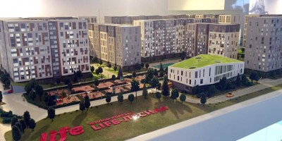 Жилой комплекс на Новолитовской улице Life-Lesnaya
