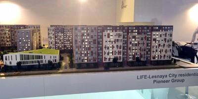 Жилой комплекс на Новолитовской улице, фасад