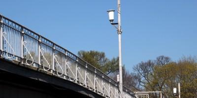 2-й Елагин мост, решетка и фонари