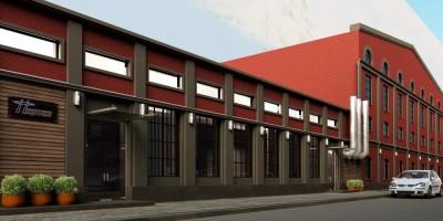 Бродильный цех Калинкинского завода, проект реконструкции, пристройка