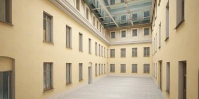 Дом Абазы, проект, Фонтанка, интерьер второго двора