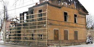 Ломоносов, Михайловская улица, 8, после пожара