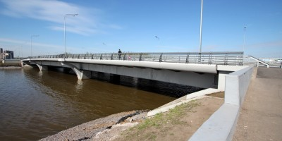 Мост через Дудергофский канал, проспект Героев
