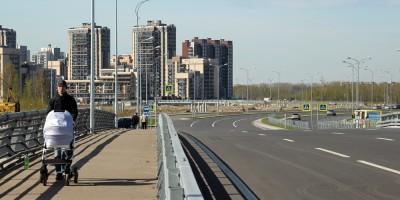 Мост через Дудергофский канал, проспект Героев, коляска