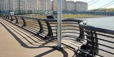 Мост через Дудергофский канал, проспект Героев, решетка