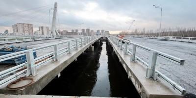 Мост на проспекте Героев