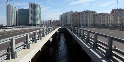 Мосты через Дудергофский канал, проспект Героев