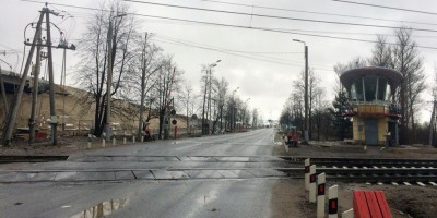 Переезд на Петербургском шоссе