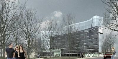 Проект бизнес-центр на Мельничной улице