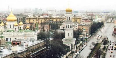Проект воссоздания колокольни Новодевичьего монастыря на Московском