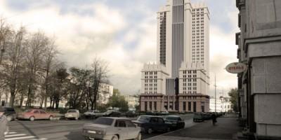 Проект здания на улице Гастелло, 7